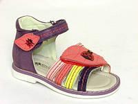 Летняя детская ортопедическая обувь босоножки Шалунишка:5718,р.20,21