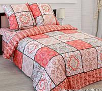 Постельное белье Мавритания роз., белорусская бязь 100%хлопок - Евро комплект