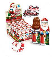 Шоколадная фигурка Дед Мороз с сюрпризом  24 шт 38 г