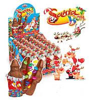 Шоколадная фигурка Дед Мороз с  сюрпризом 24 шт, 60 г