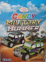 Игрушка Военный джип с конфетами
