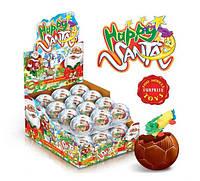 Яйцо шоколадное Санта шар 24 шт 35 г