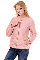 Женская демисезонная куртка Irvik FK133 розовая