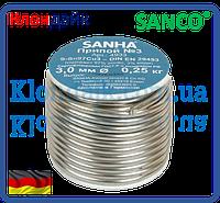 SANCO Мягкий припой для меди 2,5 мм (250 гр.)