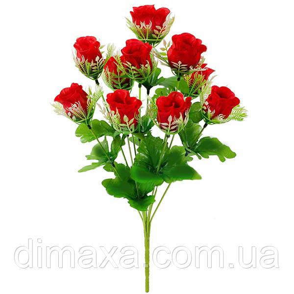 Букет искусственных цветов Роза бутон в розетке  8bff6e15b0213