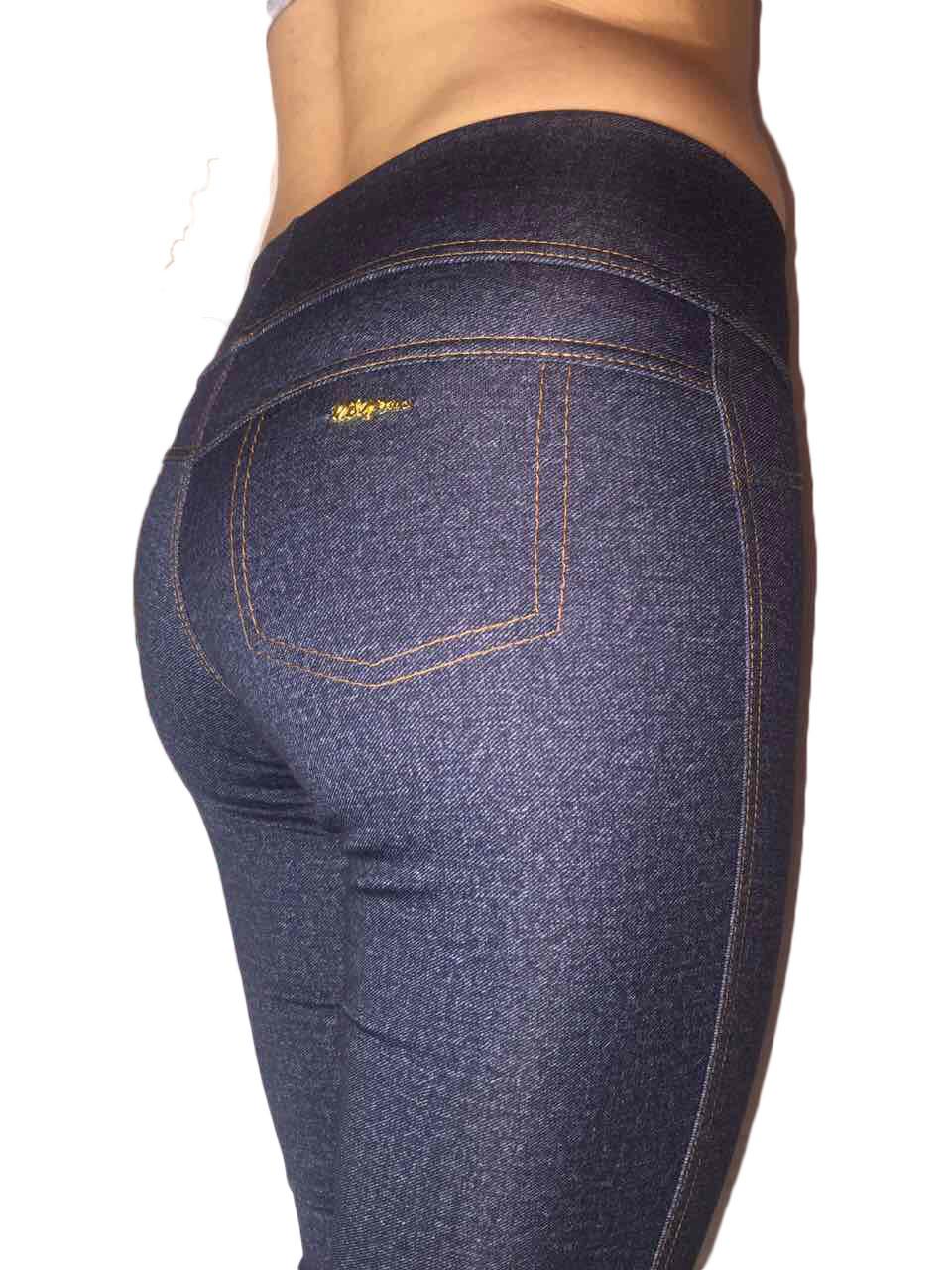 Женские лосины под джинсы серые