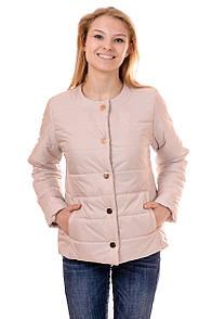 Женская демисезонная куртка Irvik KK140 бежевая