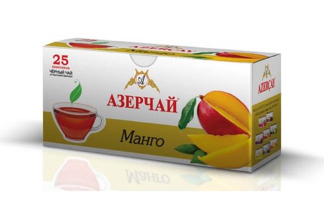 Чай черный Azercay с ароматом манго 25 пак, фото 2