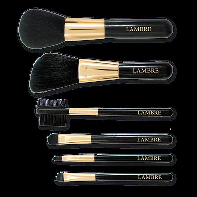 Набор кисти косметические дорожные Ламбре Make-up brush set, 6шт
