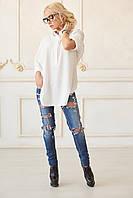 Рубашка женская белая LL Туника 560
