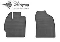 Автомобильные коврики Toyota Prius  2012- Комплект из 2-х ковриков Черный в салон. Доставка по всей Украине. Оплата при получении