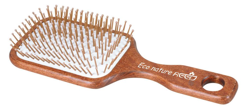 Расческа деревянная Reed Eco Nature 7154