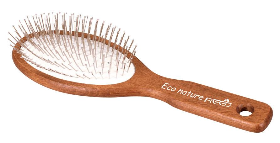 Расческа деревянная Reed Eco Nature 7167