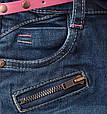 Детские джинсы узкачи на девочку с поясом C&A Германия Размер 104, фото 3