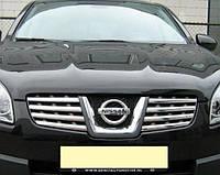 Накладки на решетку Nissan Qashqai 07-10