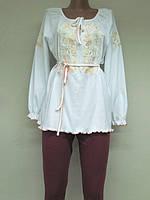 Туника с вышивкой Школьная для девочки, девушек , модель 755