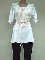 Туника с вышивкой Школьная для девочки, девушек , модель 756