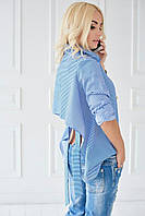 Рубашка женская в 3х цветах с Открытой Спиной