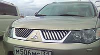Накладки на решетку Mitsubishi Outlander XL
