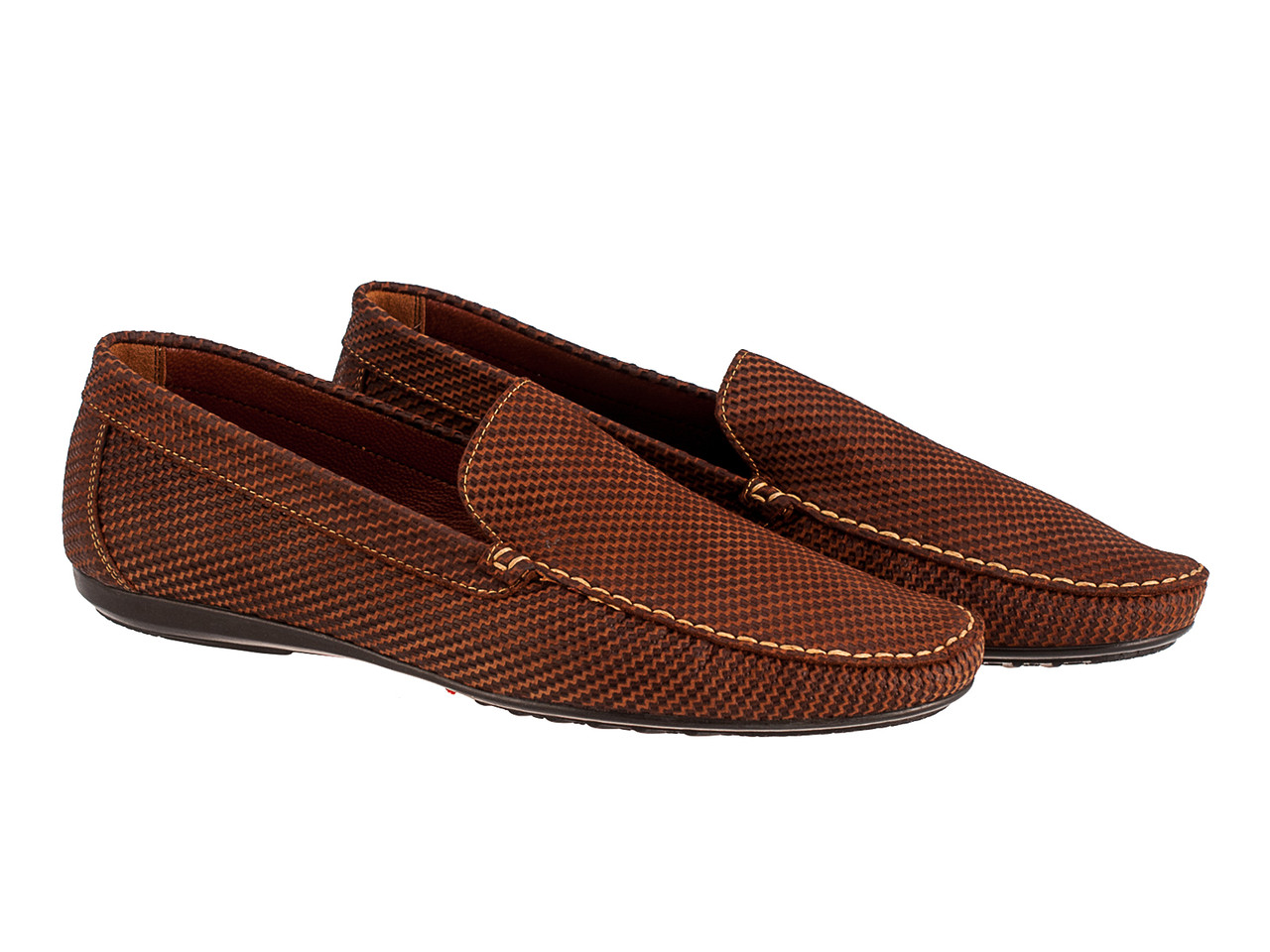 Мокасин 12535-11601 45 коричневые