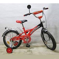 Велосипед двухколесный Explorer 16 дюймов ORANGE + BLACK