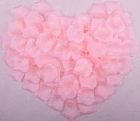Лепестки роз искусственные РОЗОВЫЕ