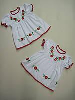 Платье с вышивкой для девочки Ясочка (от 3 мес до 1 года)