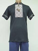 Рубашка мужская с вышивкой 627