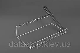 Акриловая подставка для карандашей и ручек