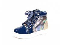 Детские модные ботинки J&G: A-2556 Синий,р.21,22,23,24