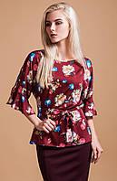 Блуза женская с цветочным принтом IE 1843