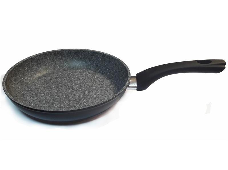 Сковорода Con Brio СВ2812, 28см, ИНДУКЦИЯ, Eco Granite De Luxe