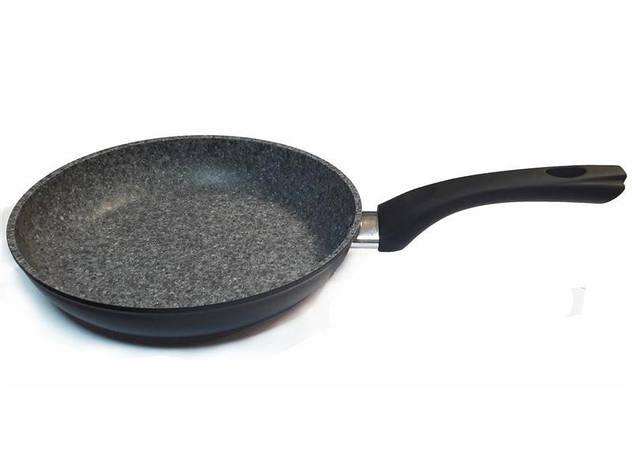 Сковорода Con Brio СВ2812, 28см, ИНДУКЦИЯ, Eco Granite De Luxe, фото 2