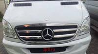 Накладки на решетку окантовка Mercedes Sprinter 06+