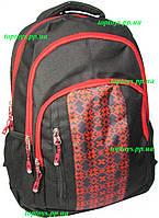 Рюкзак ранец школьный и городской универсальный, орнамент