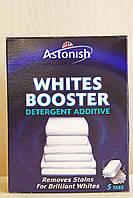 Усилитель белизны ткани, пятновыводитель в таблетках, Astonish Whites Booster, 5 шт., Великобритания