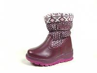 Детские зимние ботинки J&G:A-9176-12,р.23,24,25,26,27
