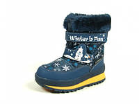 Детская зимняя обувь термо-ботинки B&G: R161-3208,р.23(15 см)