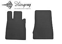 Автомобильные коврики Мерседес Бенц W220 С 1998- Комплект из 2-х ковриков Черный в салон. Доставка по всей Украине. Оплата при получении