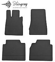 Автомобильные коврики Мерседес Бенц W220 С 1998- Комплект из 4-х ковриков Черный в салон. Доставка по всей Украине. Оплата при получении