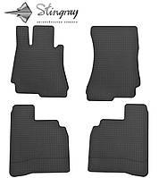 Автомобильные коврики Мерседес Бенц W221 С 2006- Комплект из 4-х ковриков Черный в салон. Доставка по всей Украине. Оплата при получении