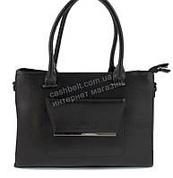 Оригинальная стильная прочная элегантная женская сумка EVELYN art. 8175 черный