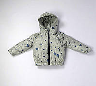 Куртка весна осень беби  код 106 размер 92-110 (1-4 лет) цвет серый, фото 1