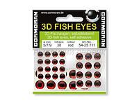 Рыбий глаз 3D Fish Eyes red 5/7/9mm