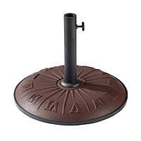 Бетонная подставка для зонта Time Eco TE-H1-15, 15 кг, шоколад (ассорт.)