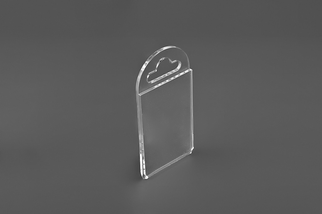 Ценникодержатель на крючок А5 150х210мм