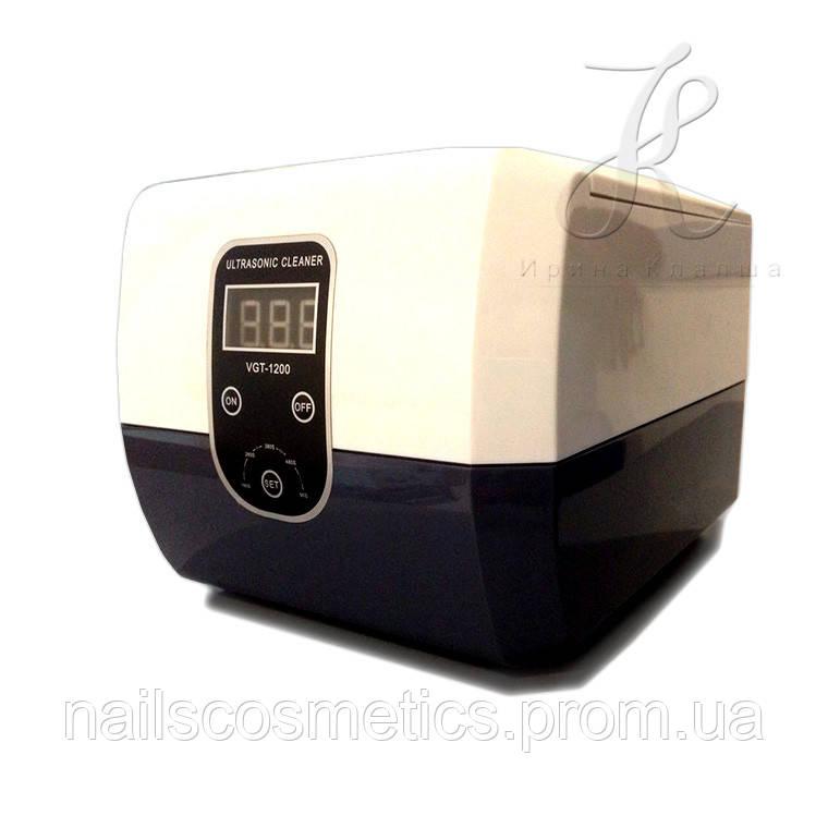 Стерилизатор ультразвуковой VGT-1200H  60 Вт 1300 мл.