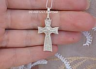 Серебряный крестик Арт. 50063