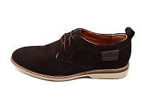 Мужские туфли нат. кожа Van Kristi Brown Наличии размера: 41 42 43 44 45