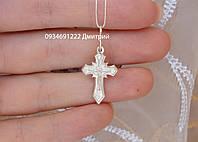 Серебряный крестик Арт. 50225